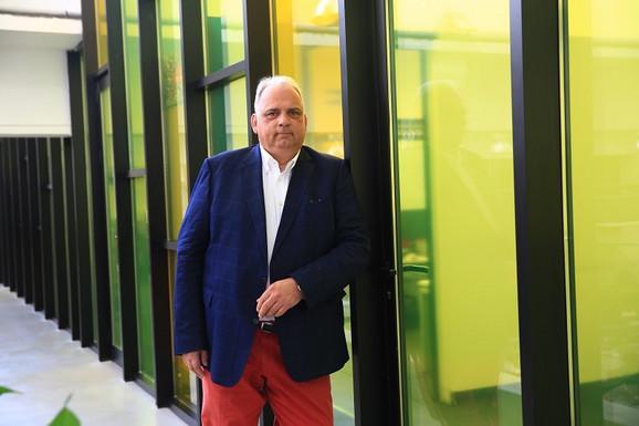 Član Izvršnog komiteta MOK-a i prvi čovek svetskog rvanja, Nenad Lalović