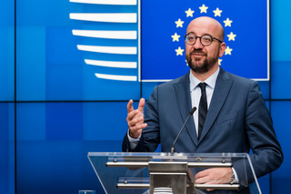 Charles Michel potępia Białoruś za stworzenie kryzysu migracyjnego