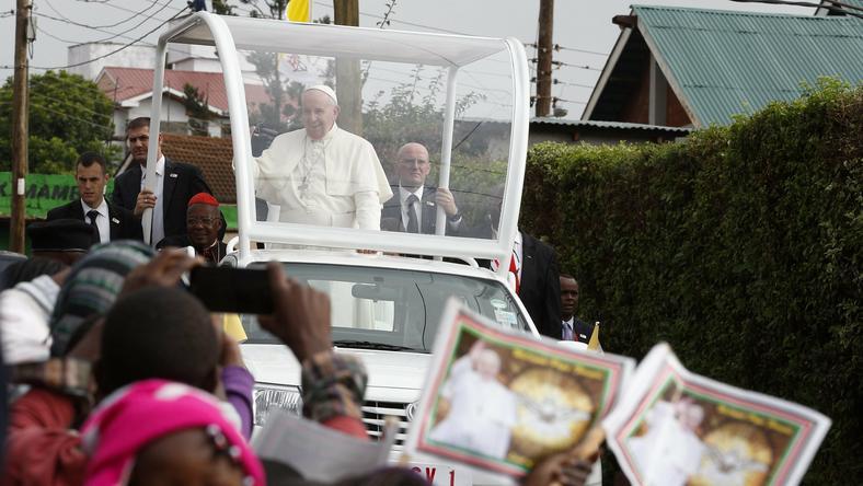 Papież w Nairobi
