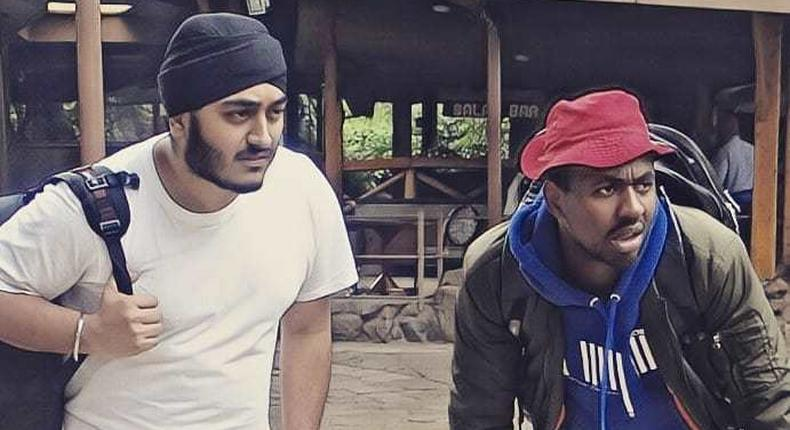 Comedians Amandeep and Jasper Murume. We didn't have Memory cards for Play Station – Churchill show comedian on having a rough childhood