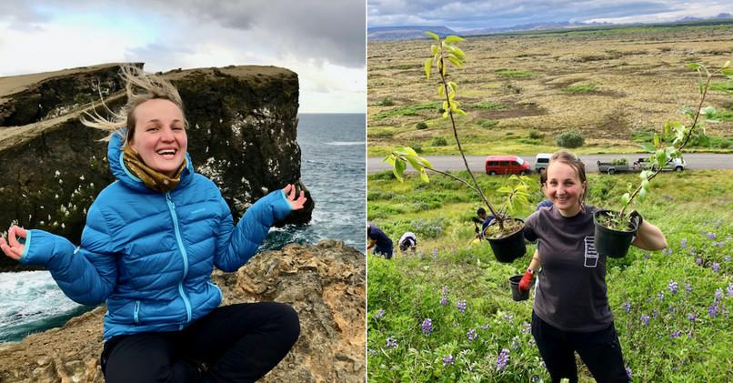 Dominika si vďaka dobrovoľníctvu splnila sen o Islande.