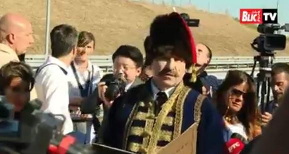 Miloš Veliki Nenad Jezdić otvaranje autoputa