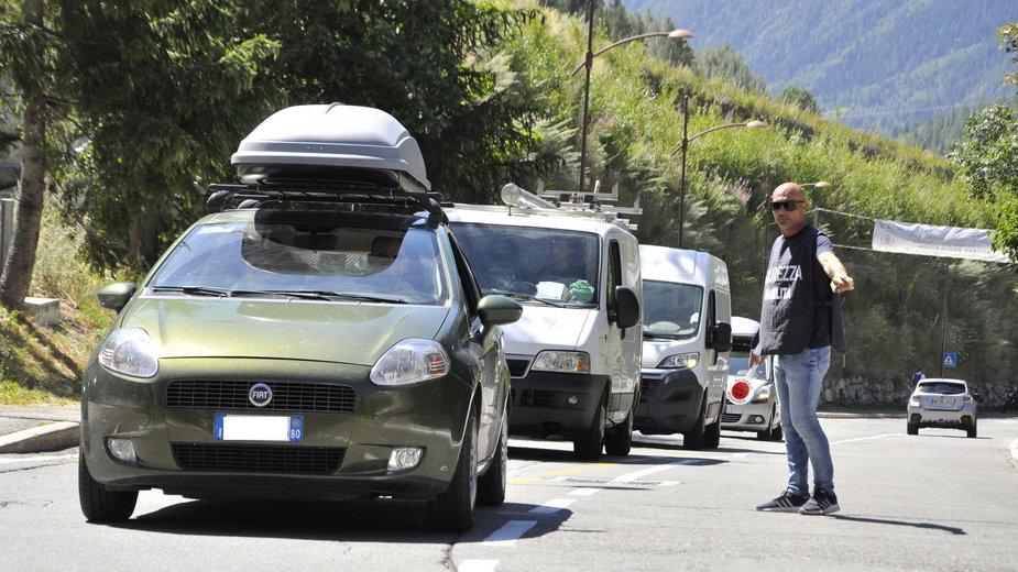 Mieszkańcy i turyści opuścili okolice Courmayeur
