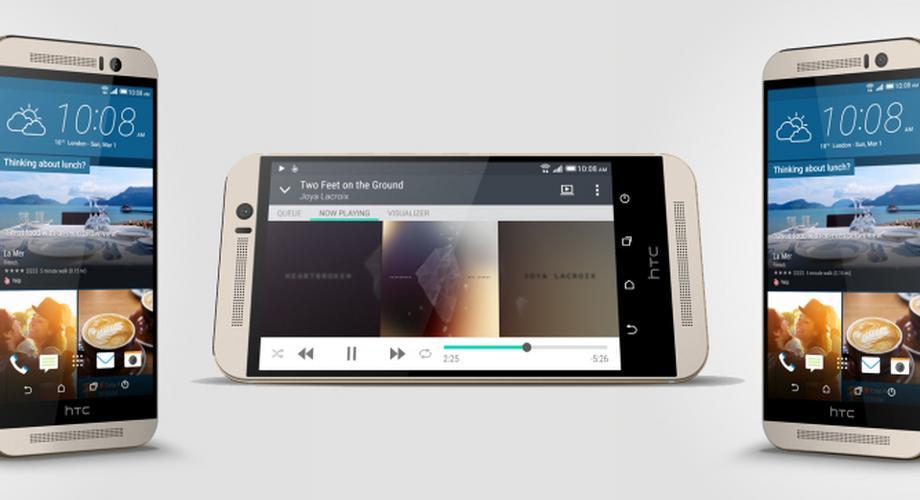 HTC stellt neues Flaggschiff-Smartphone One M9 vor