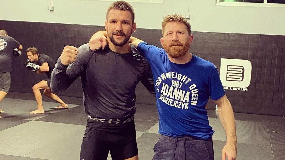 """""""Cały czas staje się lepszy"""" – Legendarny trener chwali Mateusza Gamrota po UFC Vegas 23"""