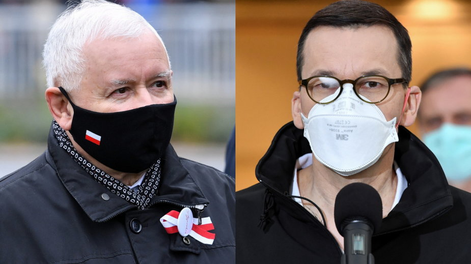 Polacy niezadowoleni z działań rządu Mateusza Morawieckiego i wicepremiera Jarosława Kaczyńskiego
