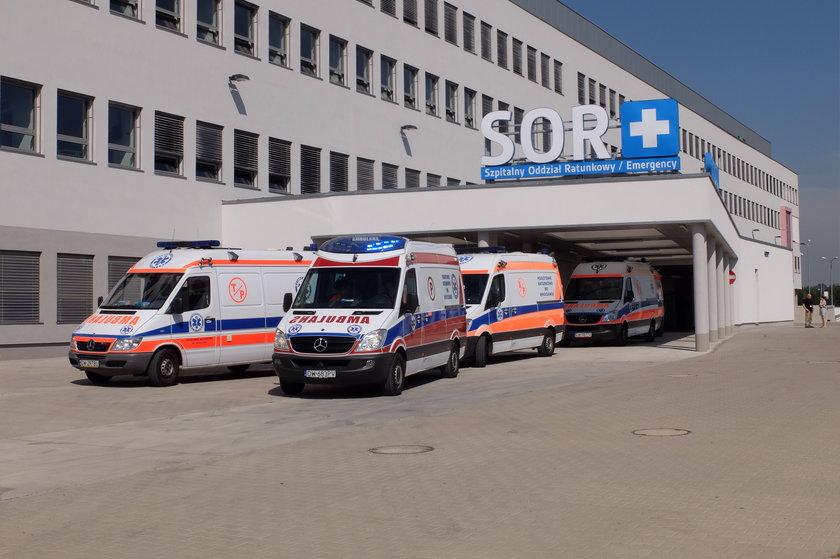 SOR szpitala przy Fieldorfa we Wrocławiu