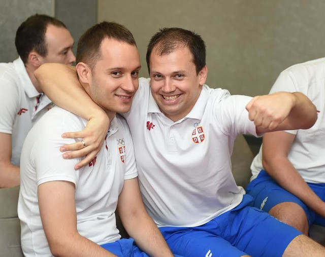 Milutin Stefanović i Davor Mikec
