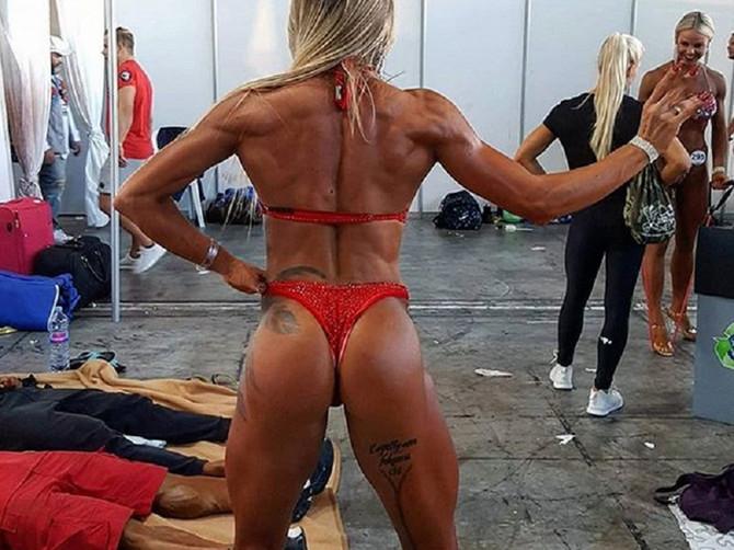 """Zbog muža je počela da trenira i danas je zmaj u fitnesu: Neki joj kažu da izgleda """"bljak"""", a Sunčica im ovako uzvraća"""