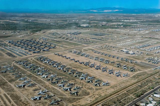 Groblje aviona u Arizoni