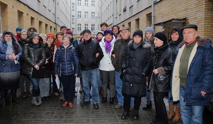 Protest lokatorów