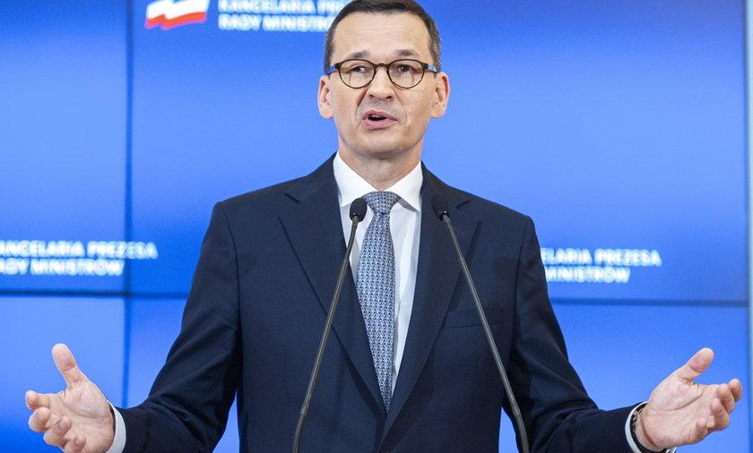 Premier Mateusz Morawiecki przekonuje, że większość Polaków zyska na Polskim Ładzie. Ale ci, którzy pracują, stracą - twierdzi FOR.