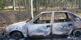 Porwali kierowcę i spalili jego samochód!