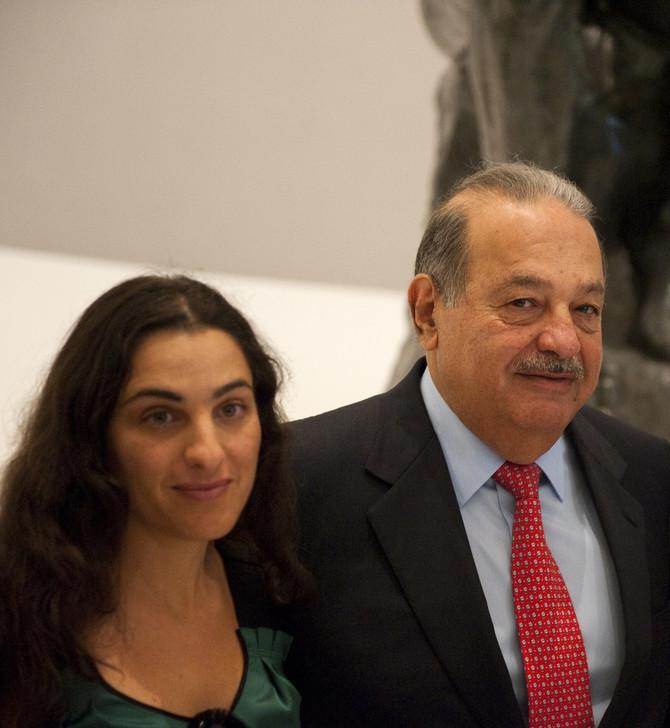 Marija Sumaja Slim de Romero sa ocem Karlosom Slimom
