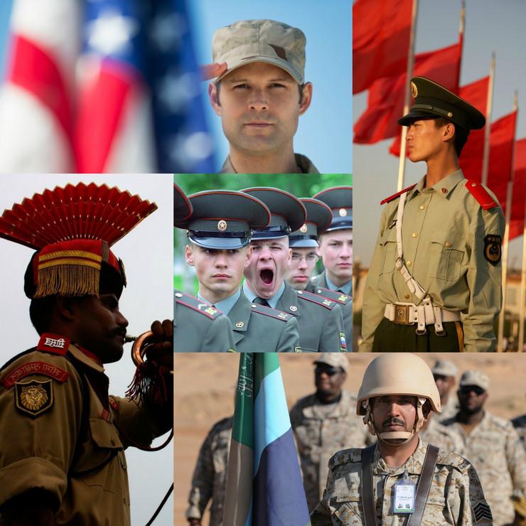 vojske sveta