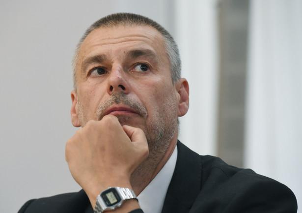 Były szef stołecznego Biura Gospodarki Nieruchomości Marcin Bajko podczas przesłuchania przez komisję ds. reprywatyzacji
