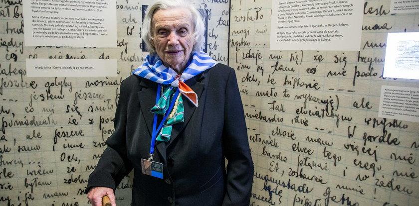 Nie żyje Alina Dąbrowska. Była więźniarka Auschwitz-Birkenau miała 98 lat