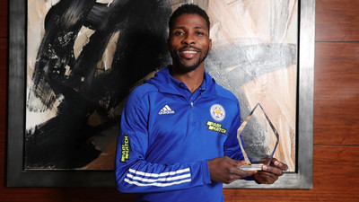 Kelechi Iheanacho's stunner against Crystal Palace voted Leicester City's Goal of the Season