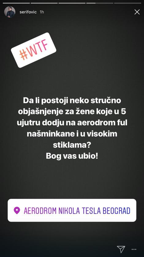 Marijina objava na instagramu