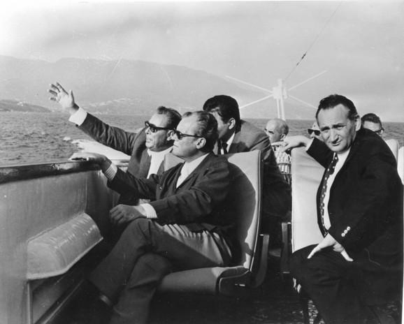 Septembar 1971: Leonid Brežnjev, prvi čovek SSSR, Vili Brant, kancelar Zapadne Nemačke i Egon Bar, vizionar i organizator velikih događaja