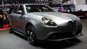 Alfa Romeo Giulietta z logo czterolistej koniczyny