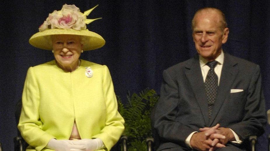 Królowa Elżbieta II i Książę Filip podczas wizyty w NASA 8 maja 2007 / fot. Paul E. Alers, NASA