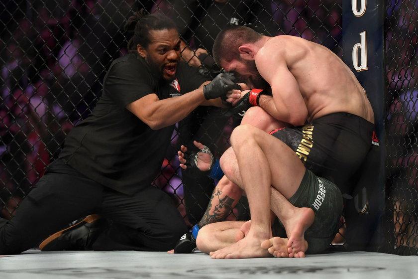 Conor McGregor przegrał z Chabibem Nurmagomedowem