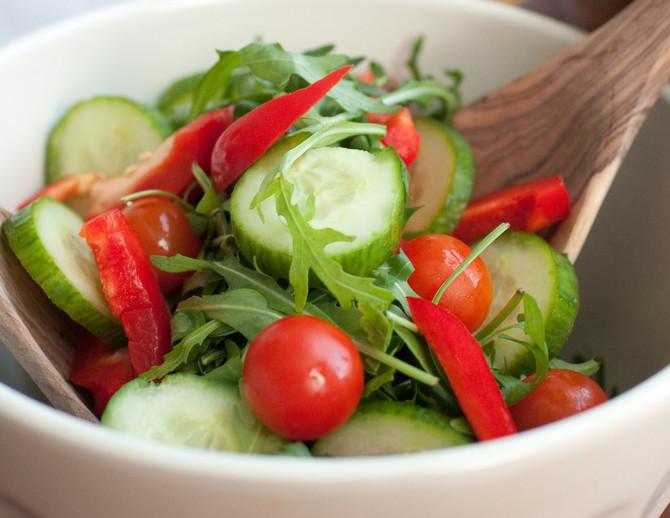 Većinu namirnica je najzdravije jesti sirove