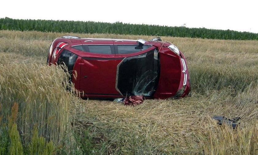 Kierowca zasłabł