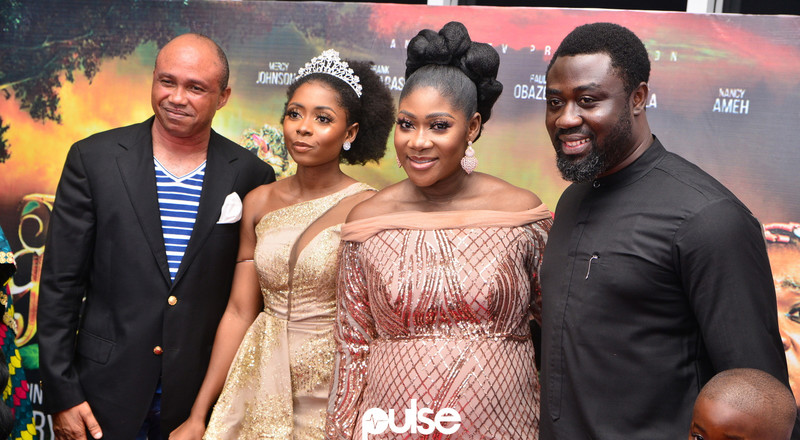 Mercy Johnson-Okojie says she was scared to make new film 'The Legend Of Inikpi'