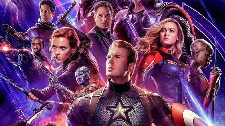 """Avangers: Koniec gry"" - fragment plakatu"