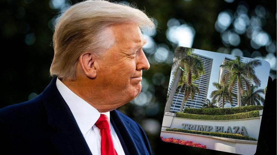 """USA: Zarząd """"Trump Plaza"""" na Florydzie jednogłośnie za zmianą nazwy wieżowca"""