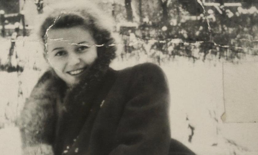 Jedyne zachowane zdjęcie Lidii, żony podporucznika Jerzego Przerwy.