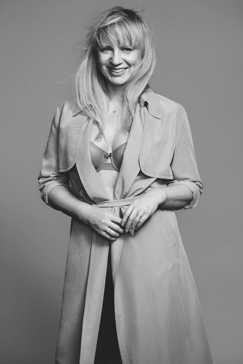 Marzena Rogalska w staniku Chantelle