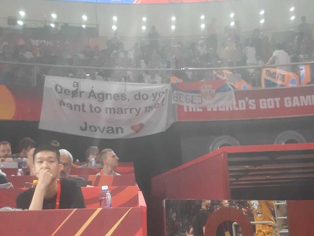 Prosidba na finalu Svetskog prvenstva u Kini