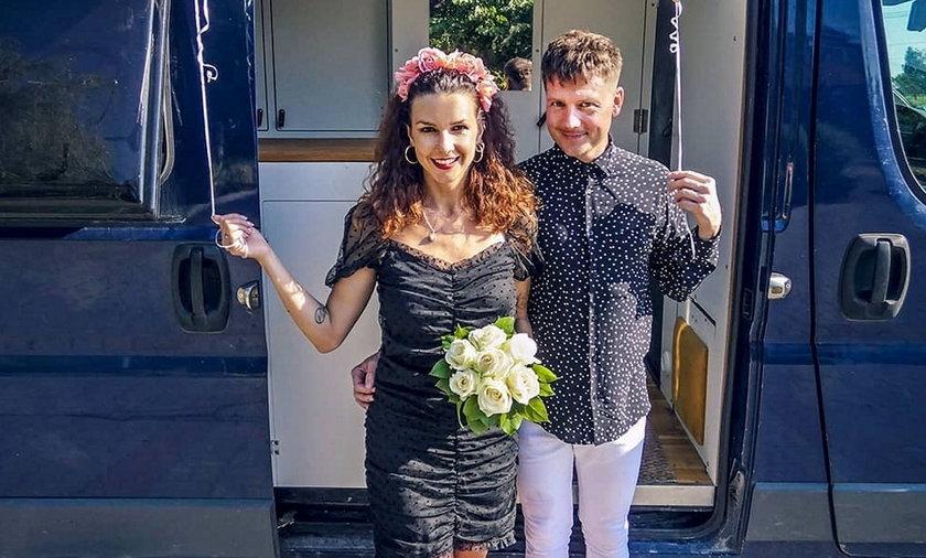Jakub Tolak i Zofia Samsel wzięli ślub. Nie w Macedonii, jak planowali, ale w Polsce