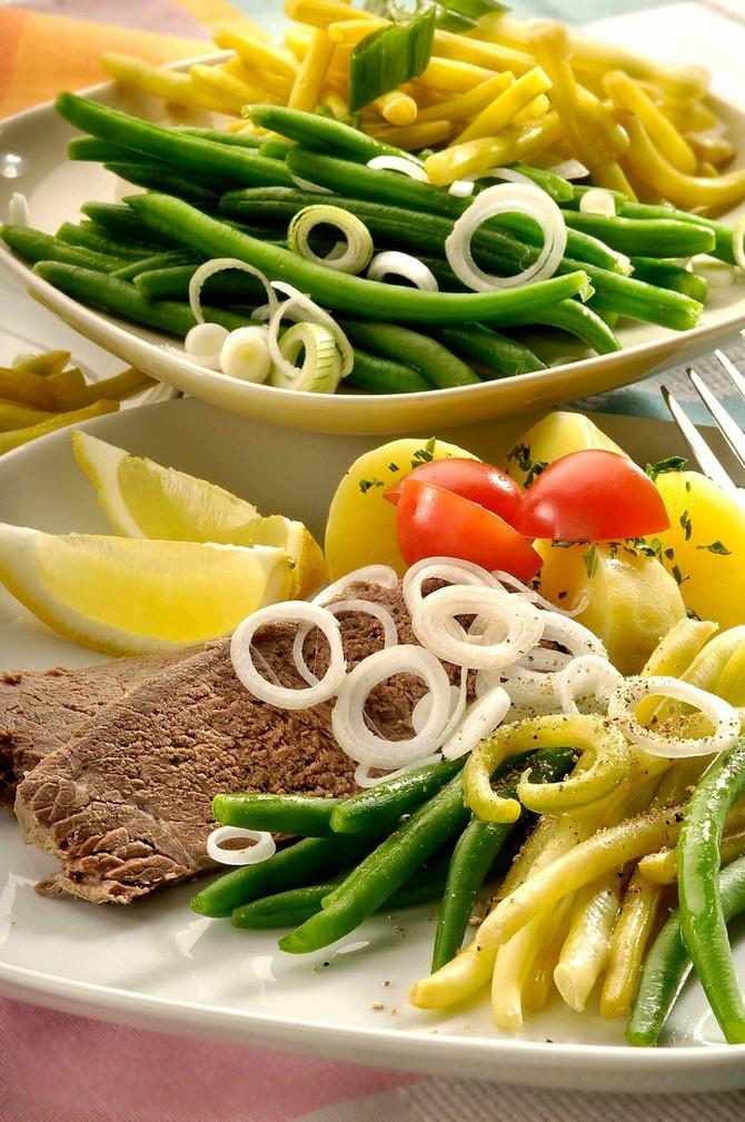 Poželjno je mesi kombinovati sa dosta povrća