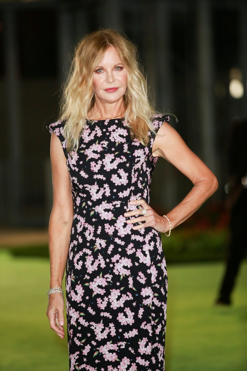 Meg Ryan pojawiła się w niedzielę 26 września ma przyjęciu w Academy Museum of Motion Pictures w Los Angeles