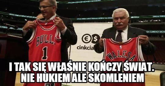 """""""Cinkciarz.pl"""": Komorowski i Wałęsa promują markę - memy"""