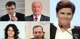 Oto ministrowie Beaty Szydło. Kim są?