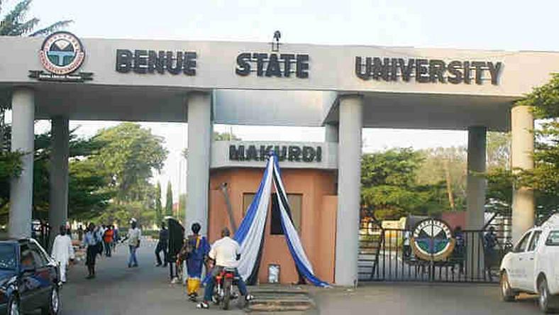 Main Entrance, Benue State University (BSU). Photo: Pulse.ng