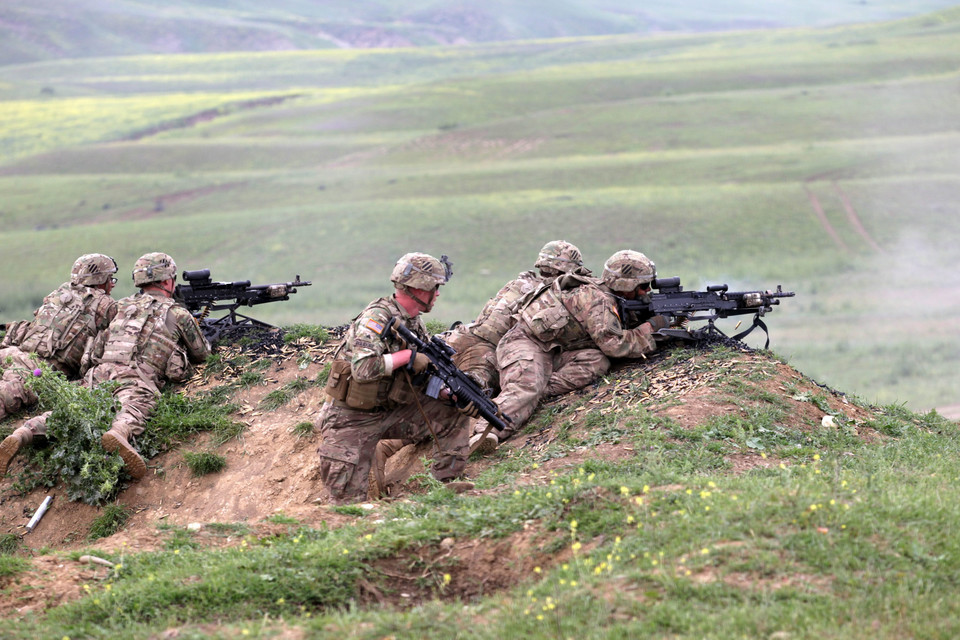 GEORGIA USA MILITARY EXERCISE ('Noble Partner 2015' Joint US-Georgian military exercise)