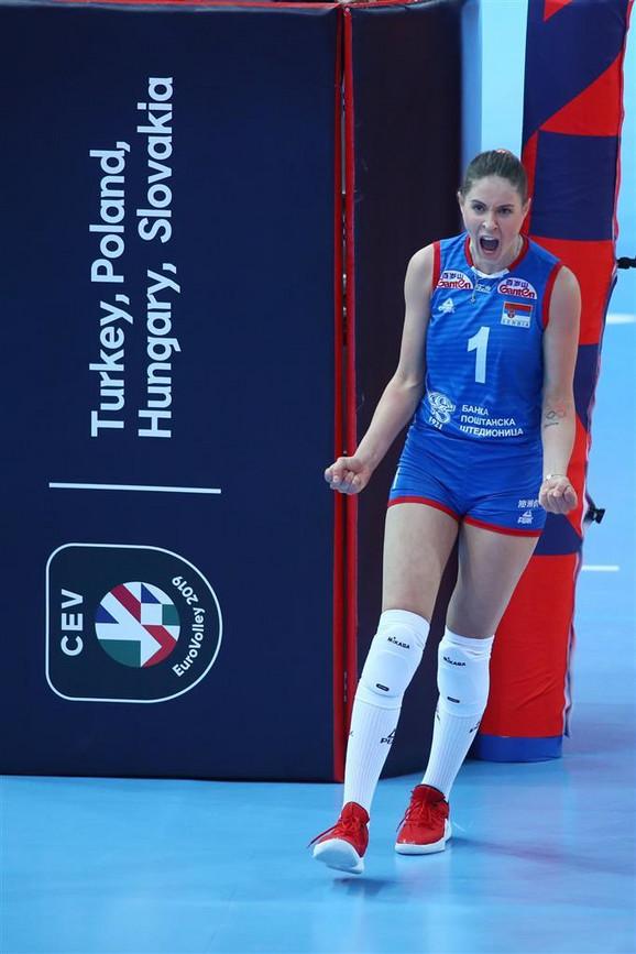 Broj na njenom dresu odao je sve: šampionka Bianka Buša
