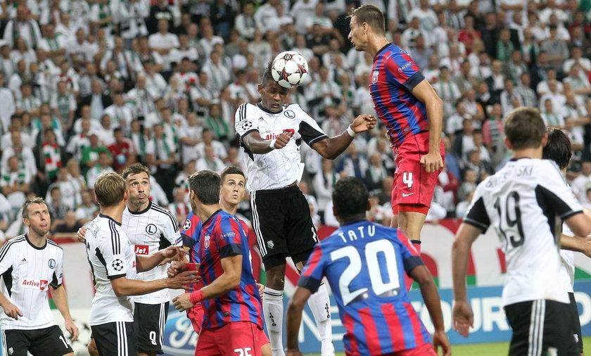 Legia Warszawa vs. Steaua Bukareszt