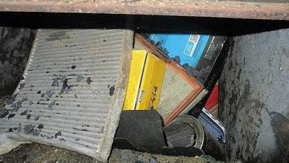 Warszawa. Odpady trafiały do pieca, źródło: Straż Miejska