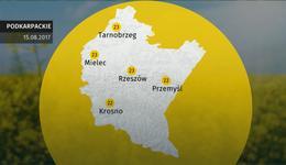 Prognoza pogody dla woj. podkarpackiego – 15.08