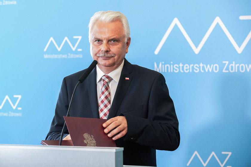 Wiceminister zdrowia Waldemar Kraska.