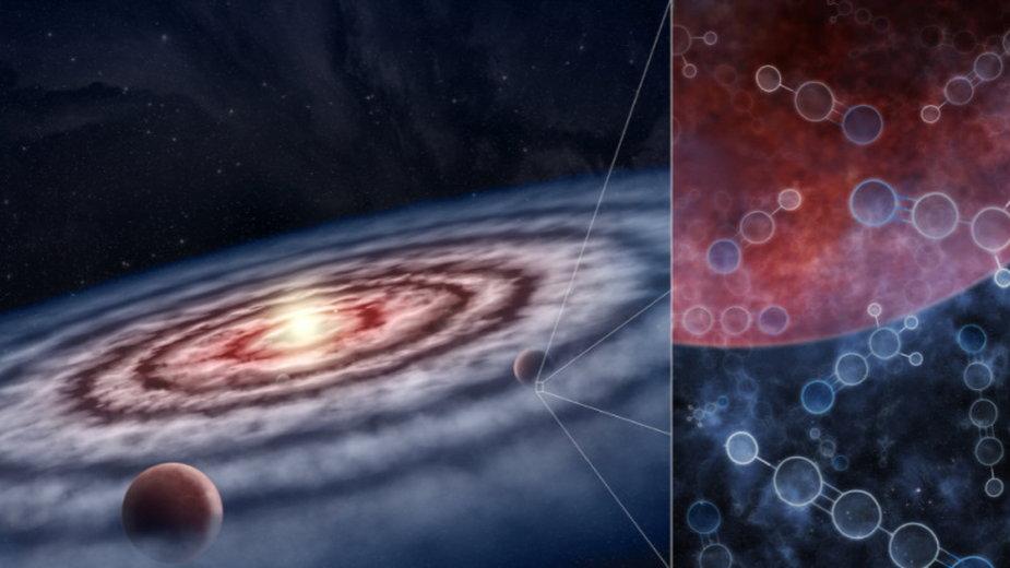 Nowe odkrycia sugerują, że warunki niezbędne do powstania życia mogą być powszechne, fot. M.Weiss/Center for Astrophysics/Harvard &Smithsonian