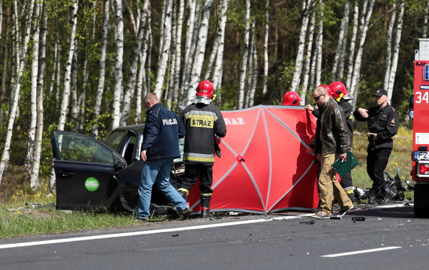 Śmiertelny wypadek na S3 pod Zieloną Górą