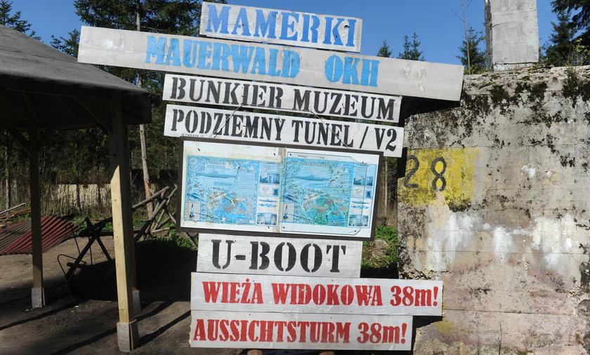 Mamerki: Bursztynowa Komnata w tunelach na Mazurach?
